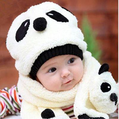 55eb47e60 Lovely Panda Newborn Infant Cartoon Unisex Baby Girl Boy Hat Cap ...