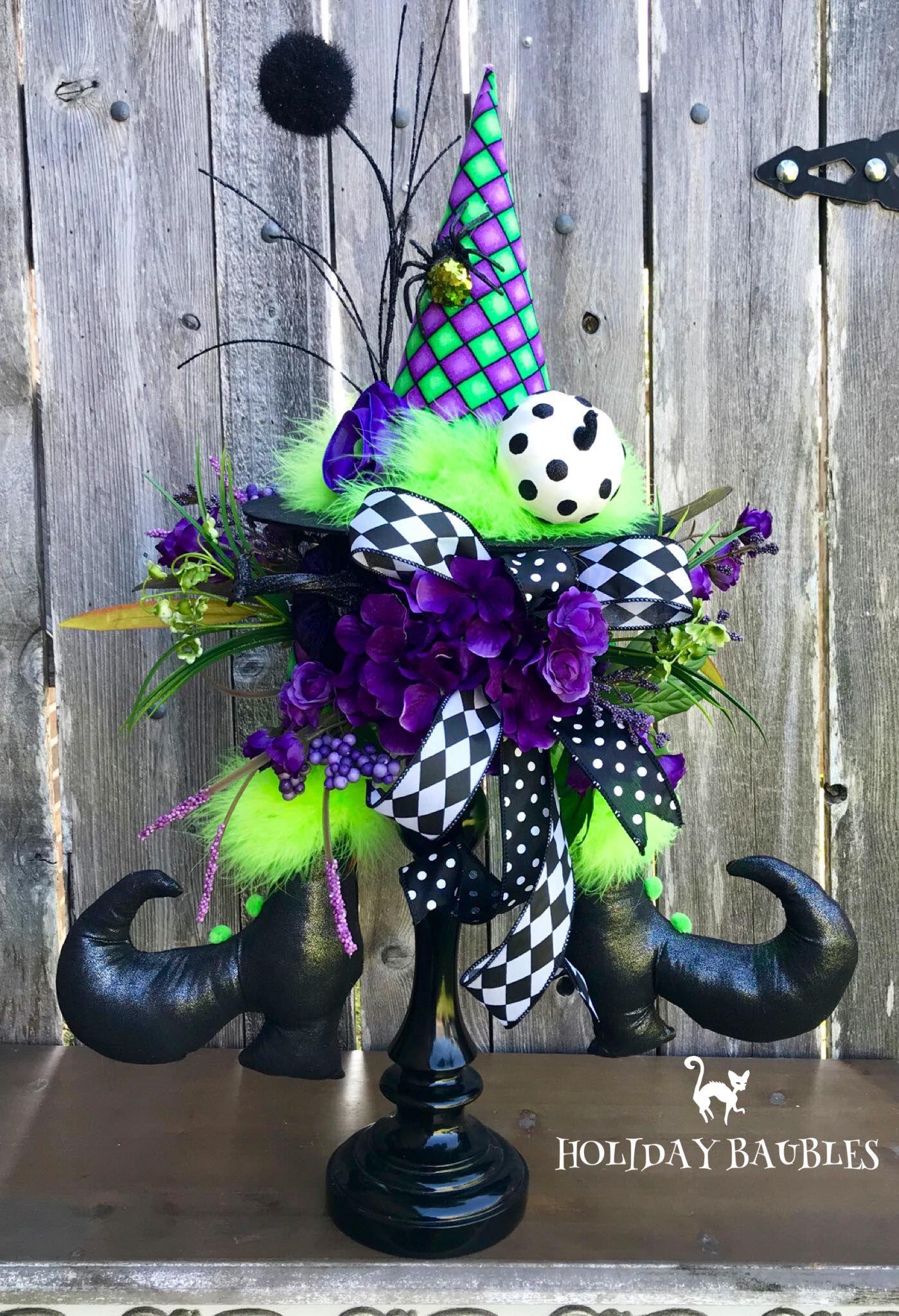 Patrick And Melody Treadway Halloween Wreaths & Arrangements - Pinterest
