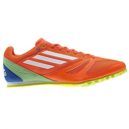 Adidas Techstar Allround 3 Running Spikes 11 Orange -- Click image to  review more details