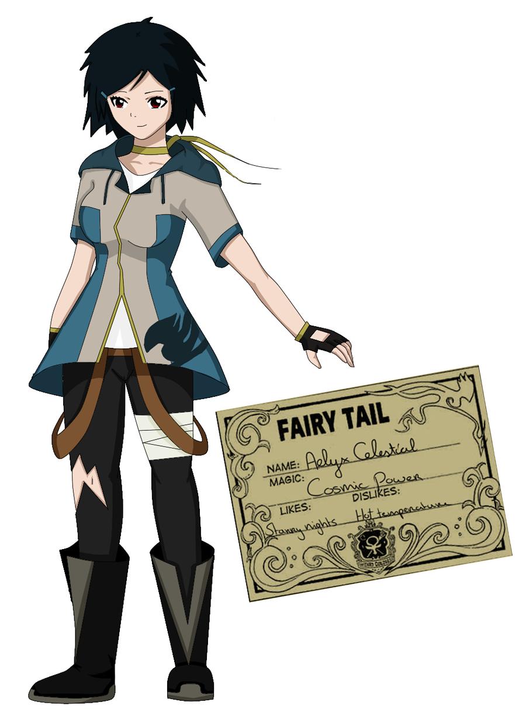 Fairy Tail OC: Aelyx Celestial by Amesui.deviantart.com on ...