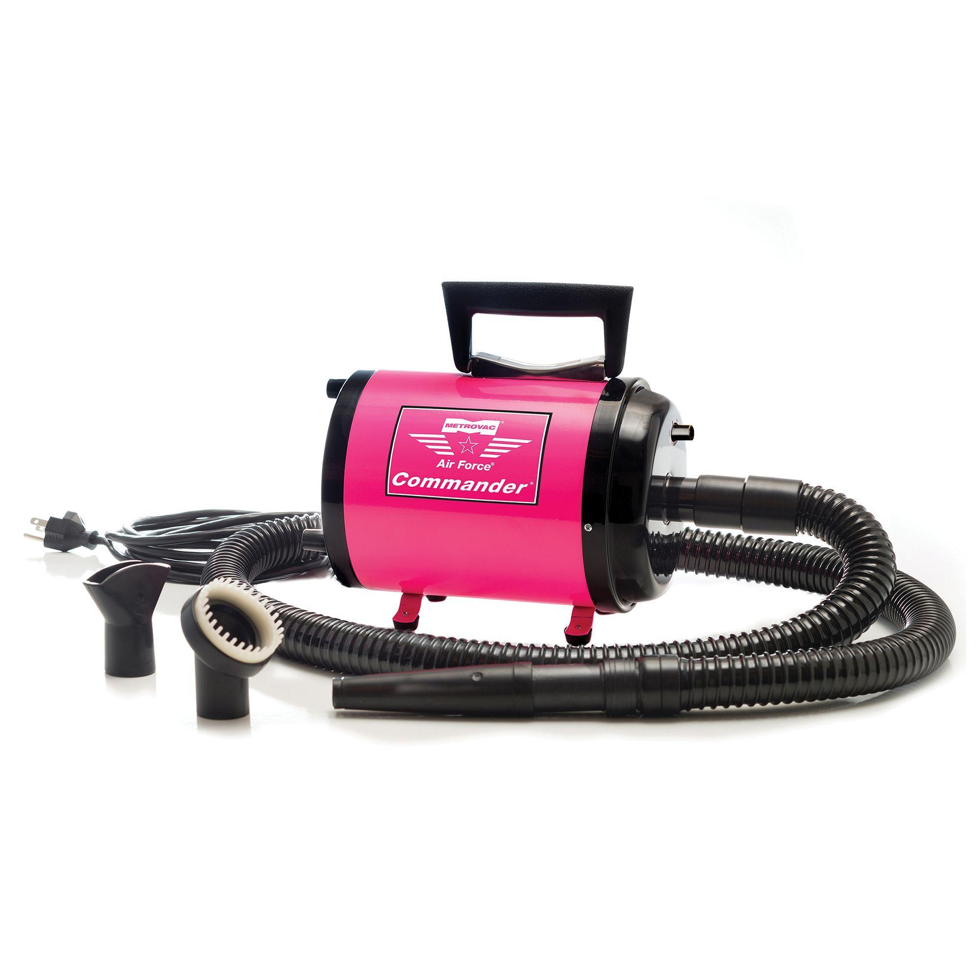 MetroVac Commander Variable Speed Pet Dryer, Pink Dog