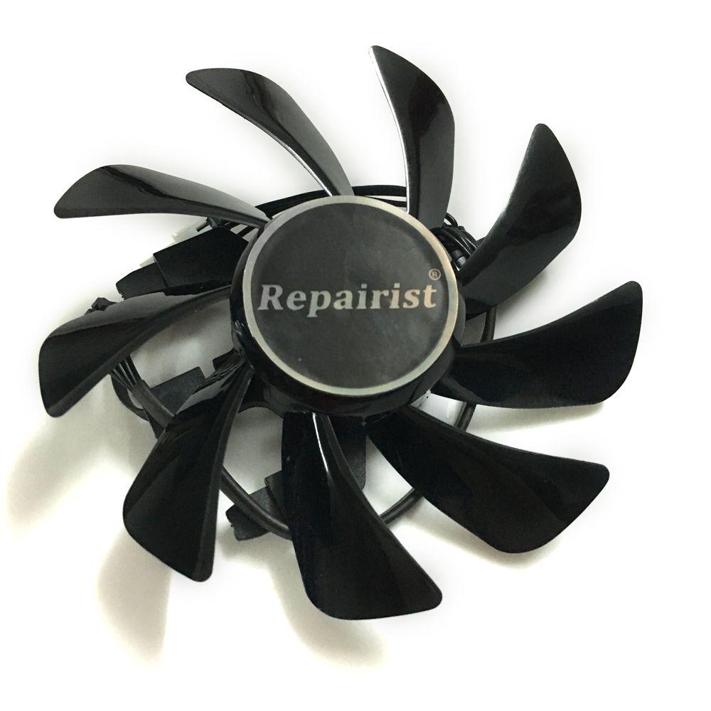 Sapphire RX 570 GPU Kühler Grafikkarte fan für Radeon