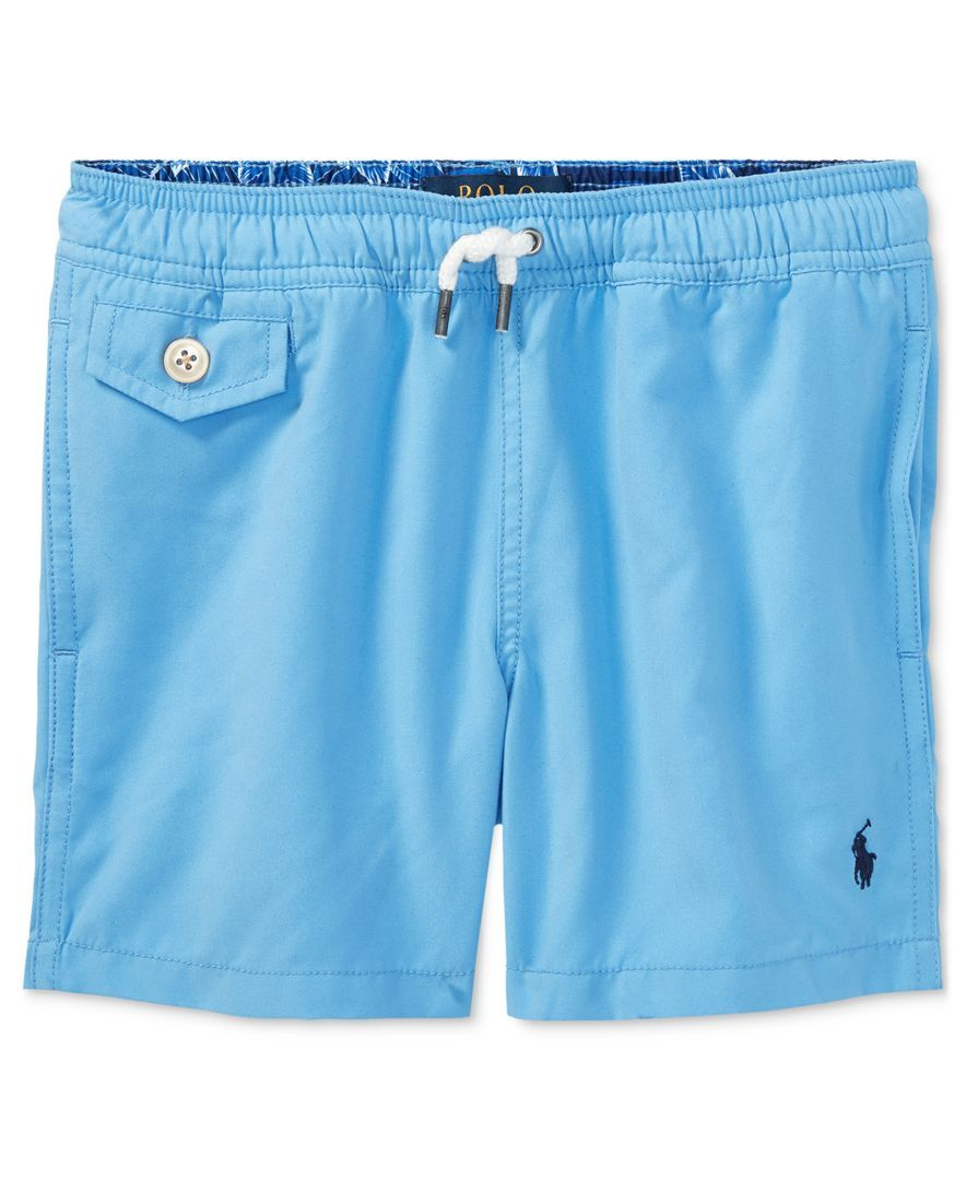 78db5c4cf788c Ralph Lauren Swim Trunks, Little Boys (4-7)   Products   Swim trunks ...
