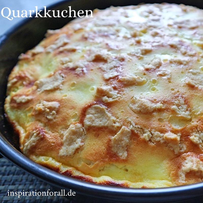 Photo of Quarkkuchen – einfaches & schnelles Rezept für zarten Kuchen mit Quark