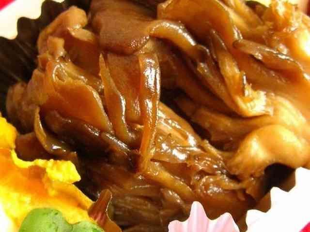 甘辛味のマイタケの画像