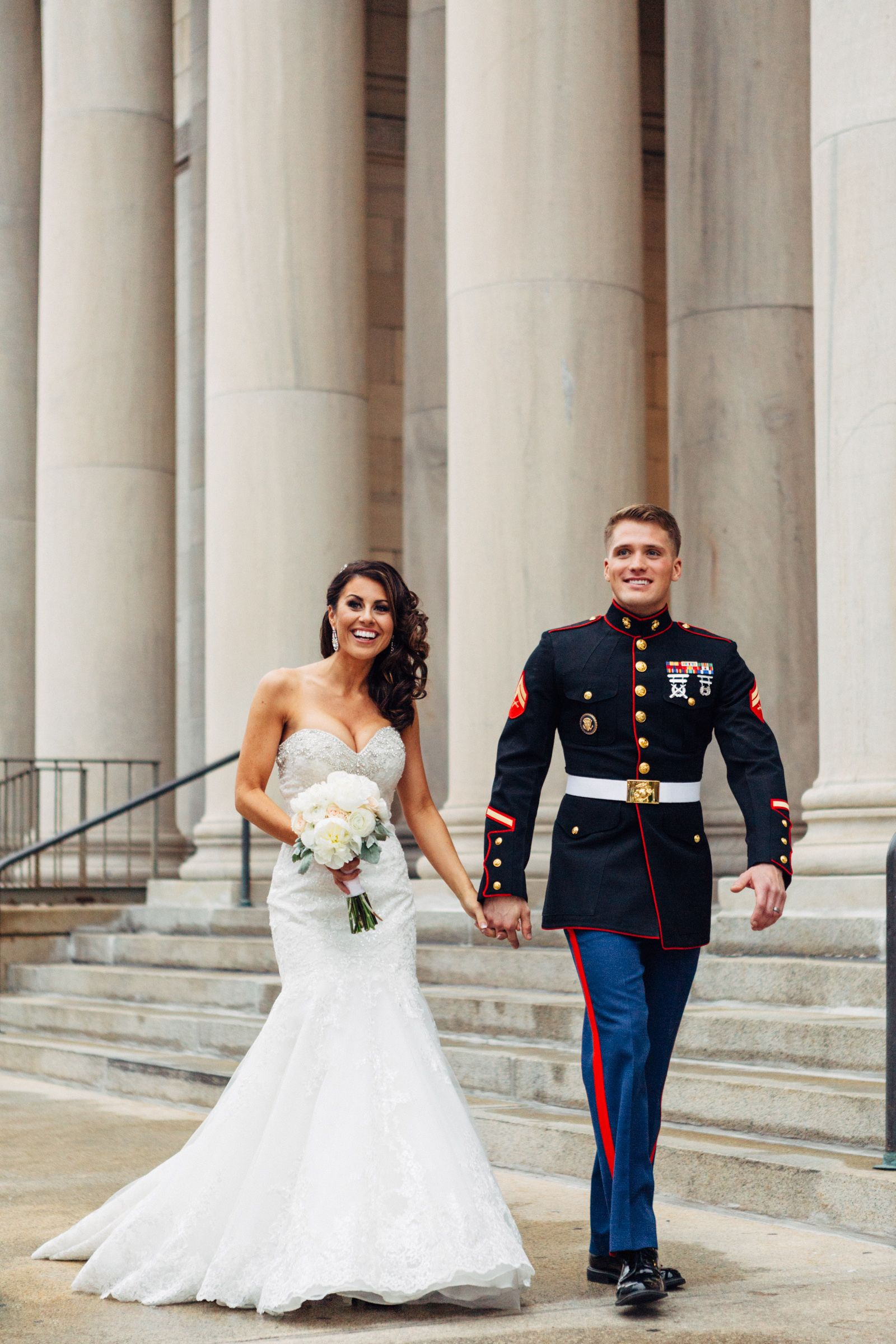 Marine Corp wedding Michael & Micah. militarywedding
