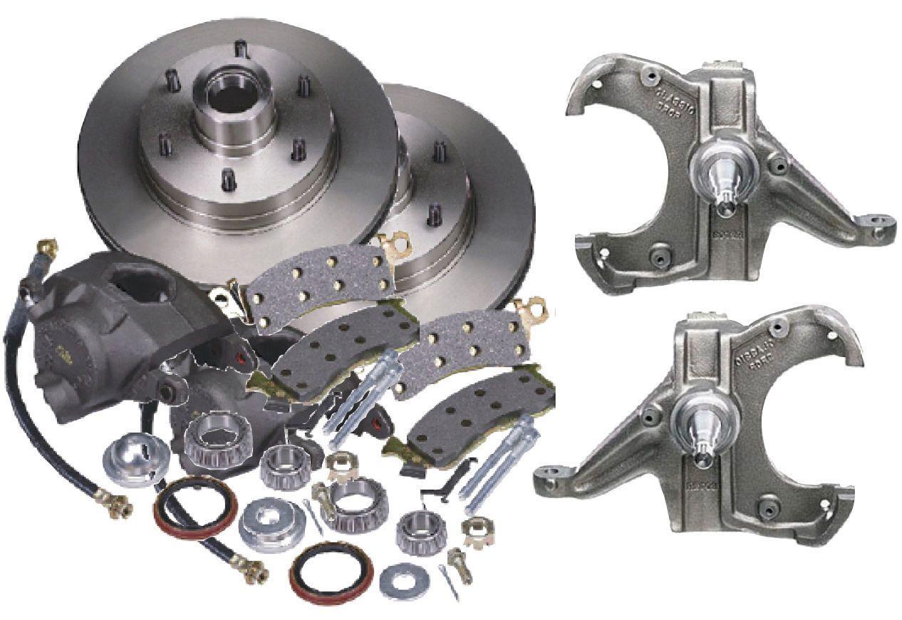 19601987 gmc c10 front complete disc brake conversion kit