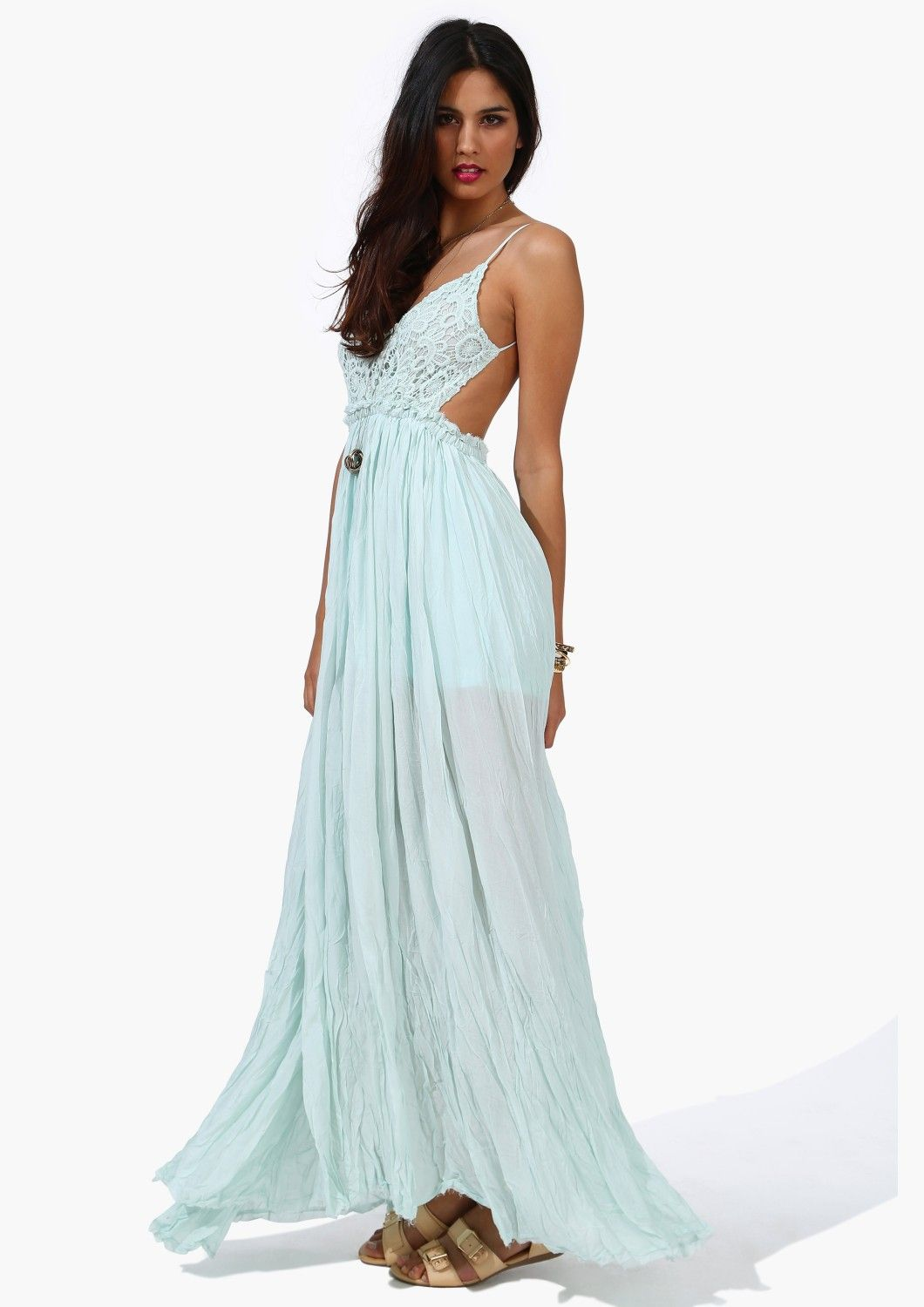 Sway Maxi Dress in Sky Blue | Music Festival and Concert Fashion ...