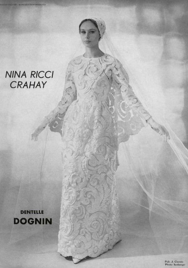 1963 nina ricci | a lady in white | 1960s wedding dresses, wedding