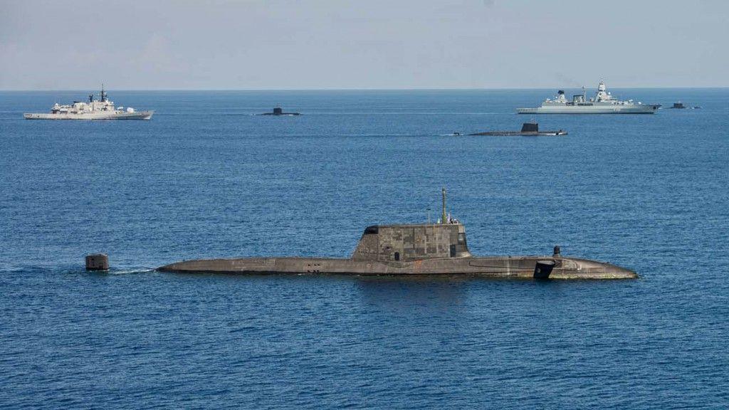 Hms Ambush Stands For Uk Navy During Dynamic Malta 15 Uk Navy Naval History Naval