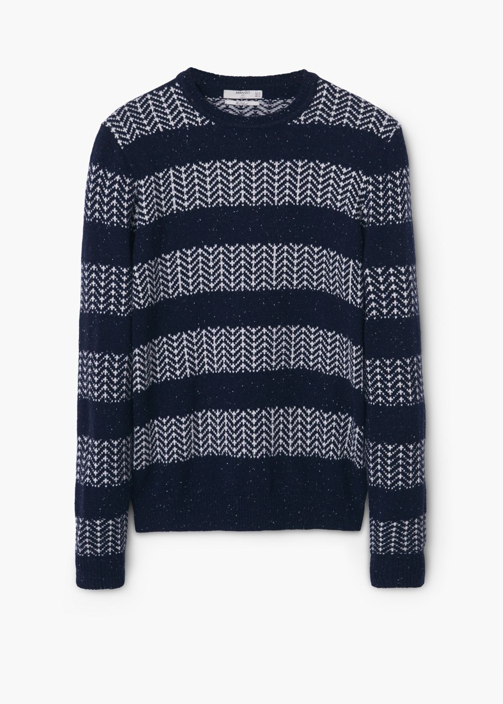 Jersey lana diseño espiga - Hombre   Pinterest   Lana, Mezcla de ...