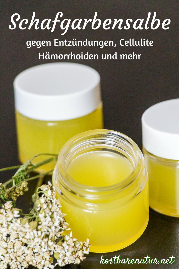 Photo of Schafgarbensalbe einfach selber machen – gegen Entzündungen, Ekzeme und mehr