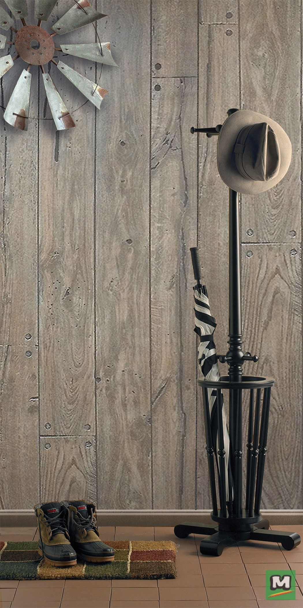 Shabby Chic Style Is Possible With 4 X 8 Hardboard Wall Panels The Perfect Accent Piece For Any Ro 4x8 Wall Paneling Decorative Ceiling Panels Wall Paneling