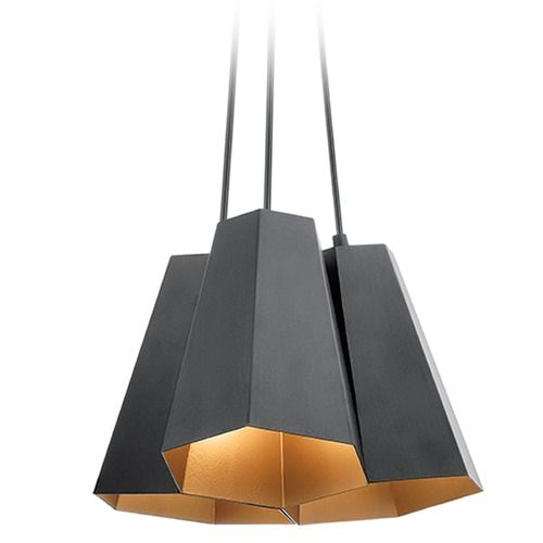 Kichler lighting aidan pendant light with hexagon shade