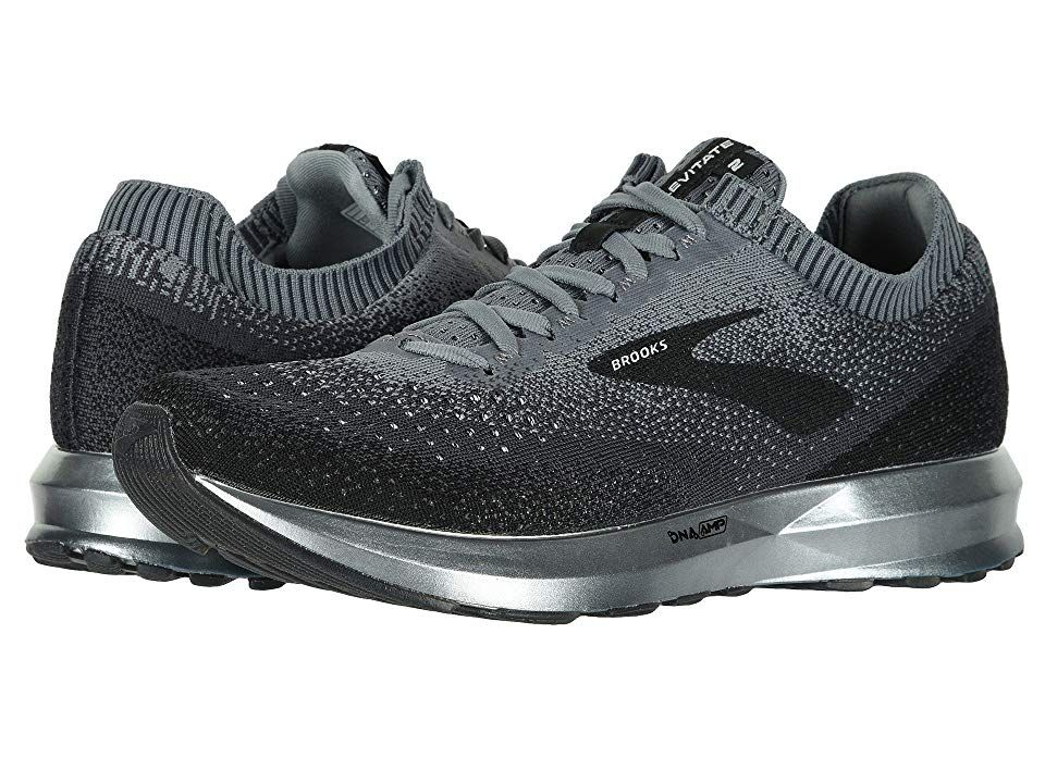 27af5190346 Brooks Levitate 2 (Black Grey Ebony) Men s Running Shoes. The Brooks ...