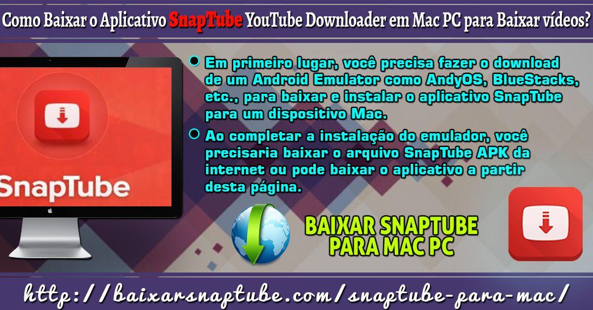 Baixar Do Aplicativo Snaptube Para Mac Pc Os Pro Mac Pc