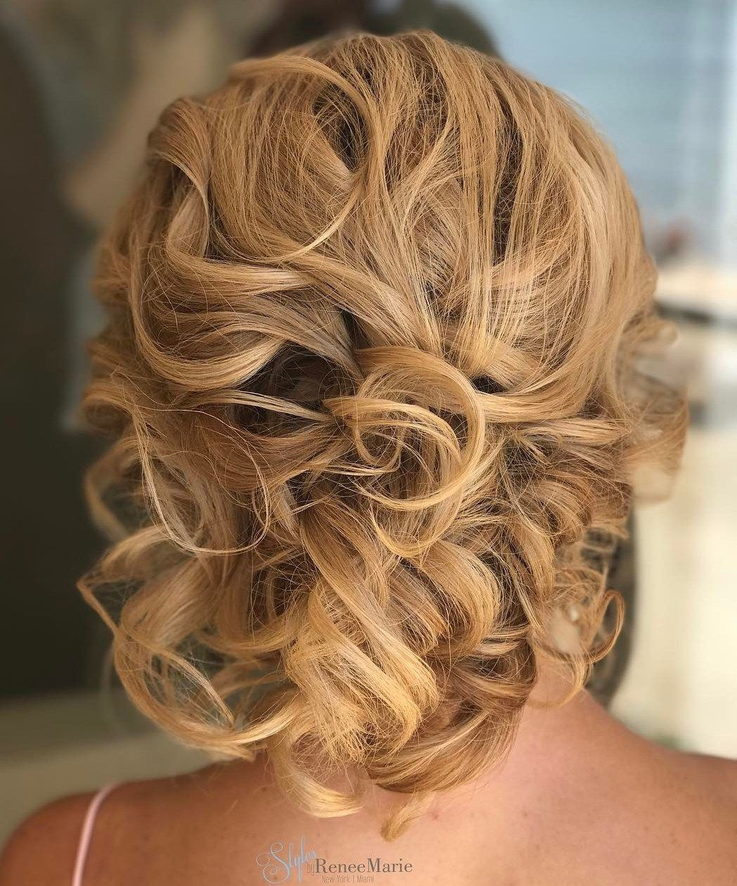 60 Trendiest Updos For Medium Length Hair Mother Of The