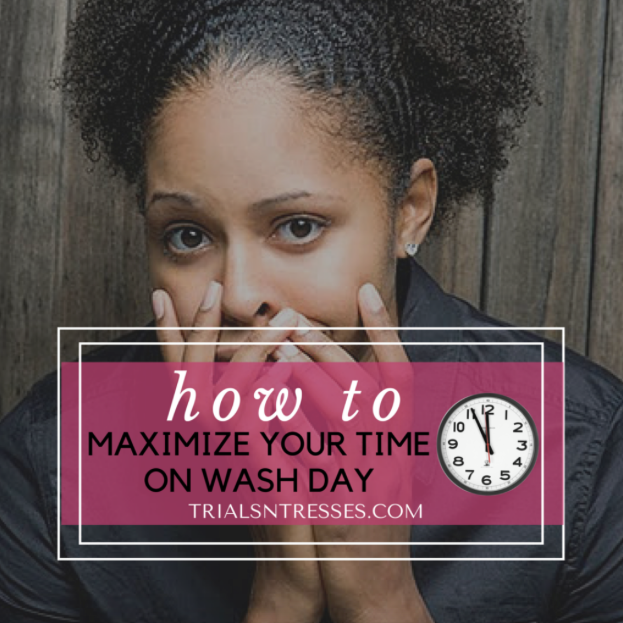 Wash day can be a time consuming process. Get the most out of the time you're spending with these recommendations from Trials N' Tresses.  #QRedew #NaturalHair #NaturallyCurly #TrialsNTresses