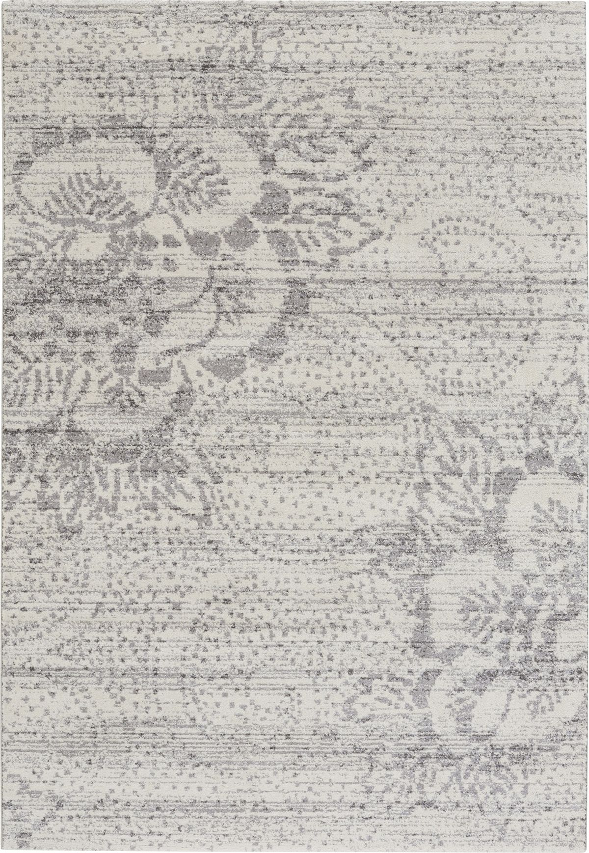 """Bedroom 10x10 Size: Channel Rug - Color: Gray; Size: 7'10"""" X 10'10"""""""