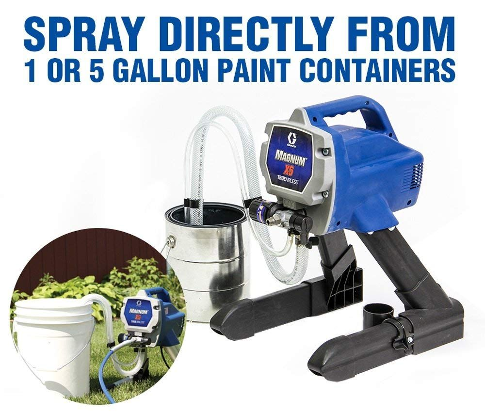 Graco Magnum 262800 X5 Stand Airless Paint Sprayer Power Paint Sprayers Amazon Com Paint Sprayer Sprayers Magnum