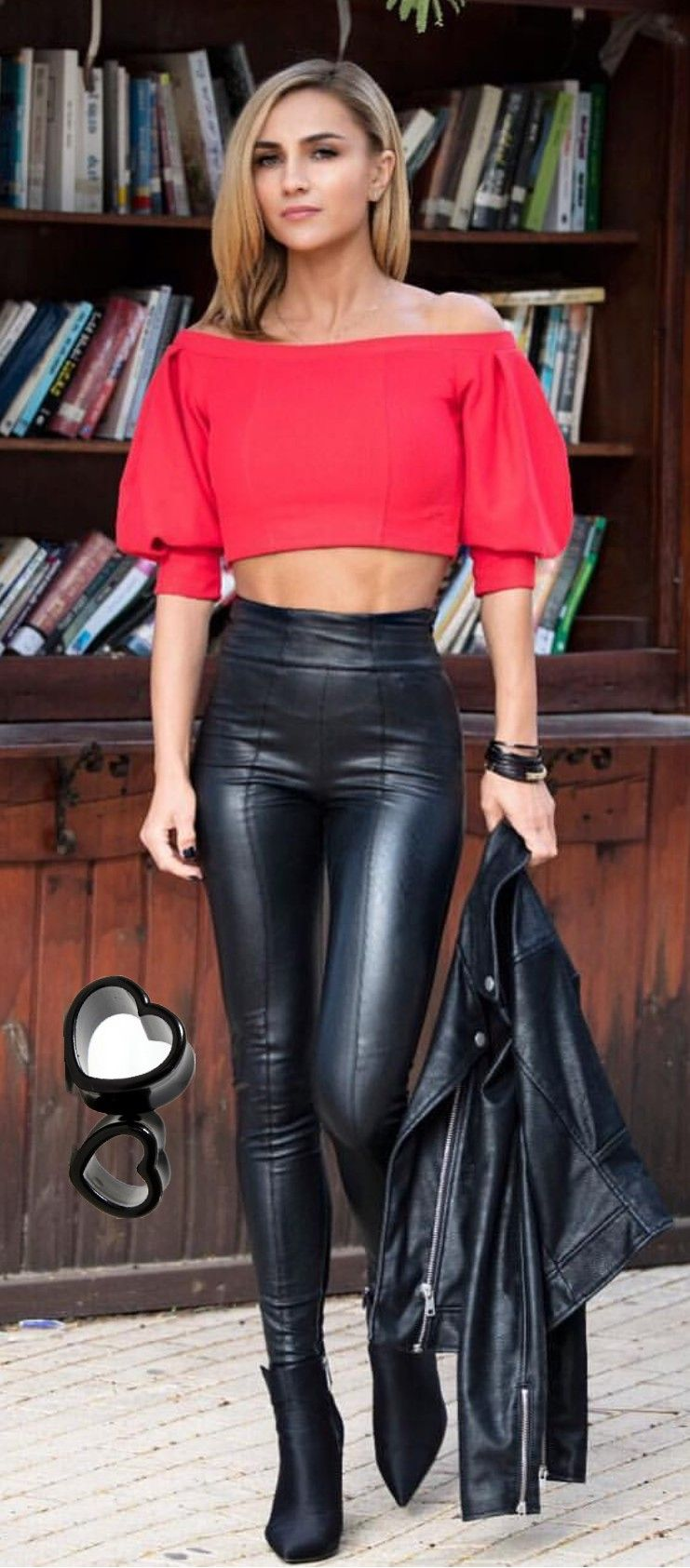 811911757bd33e nett Leather Jeans, Leather Pants Outfit, Tight Leather Pants, Leather And  Lace,