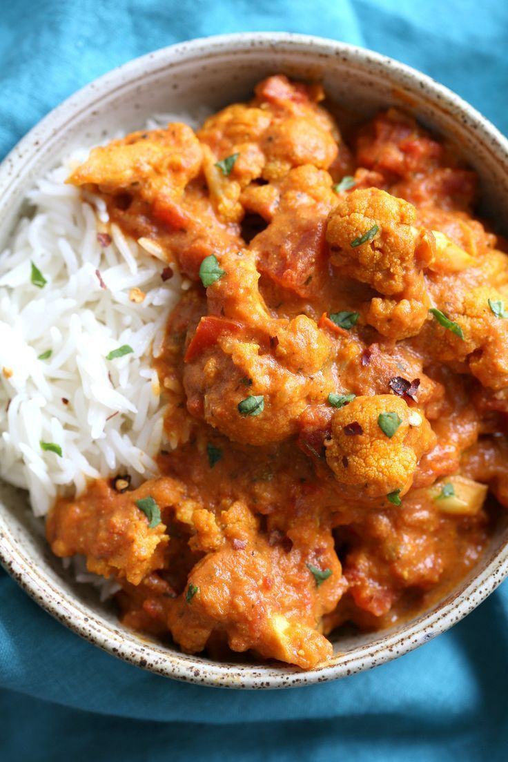 Photo of Vegan Cauliflower Tikka Masala – Carola