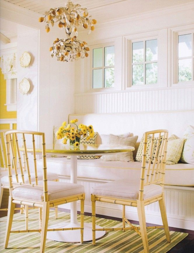 Dining Area A Pocketful Of Blue CHEERFUL YELLOW