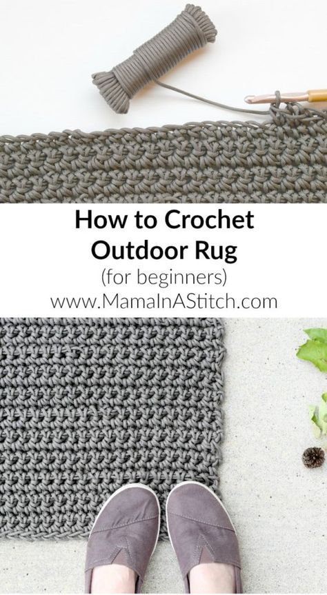 How To Crochet An Outdoor Rug For Beginners Outdoor Rugs