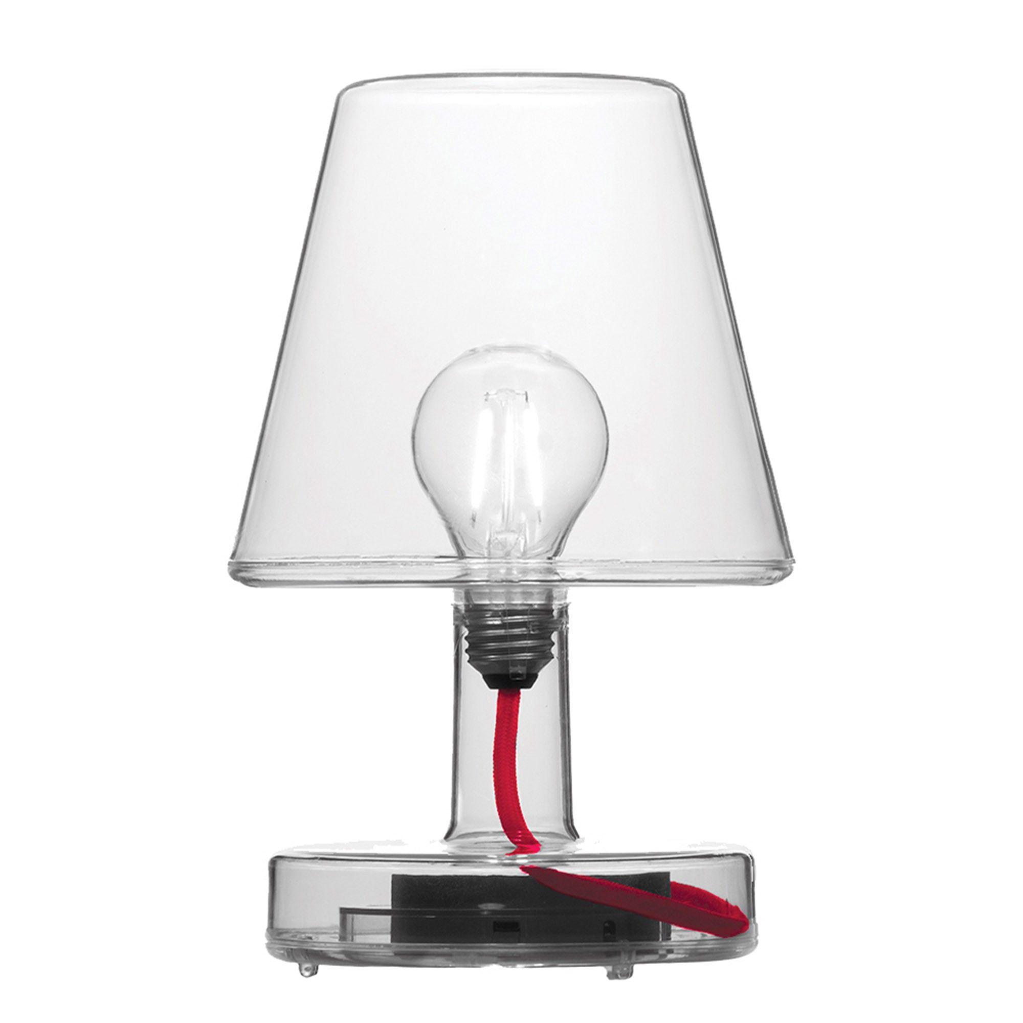 Lampe De Table Transloetje Sans Fil Transparente Fatboy Lampes De Table Lampe De Table Moderne Lamp
