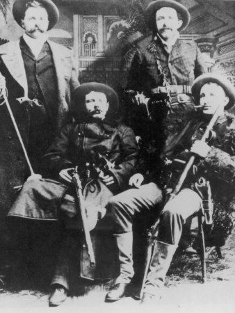 Cole Younger Family Tree | The James-Younger Gang (L-R): Cole Younger Jesse James Bob Younger ...