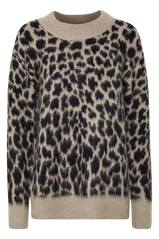 KAFFE Rundhalspullover »Leo«   Animal Print   BAUR   Leo, Pullover und  Polyvore 578caf01ab