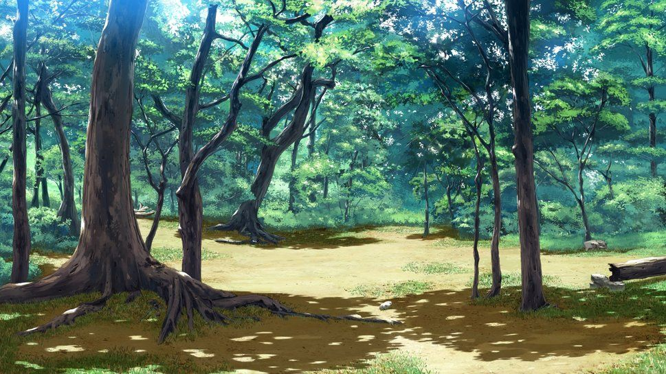 Anime Forest Background Anime Scenery Scenery Background Anime Background