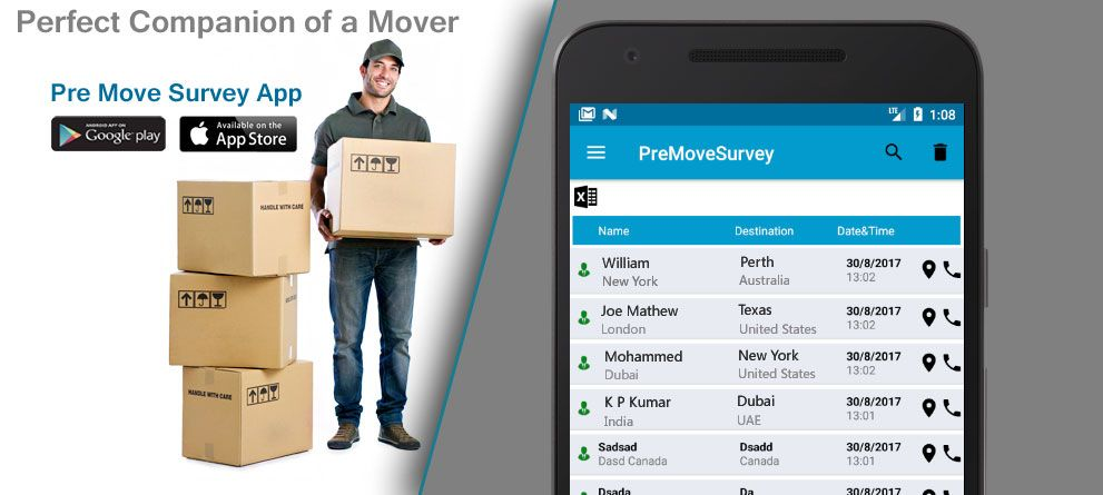 Moving And Storage Companies >> Pre Move Survey App For Moving And Storage Companies