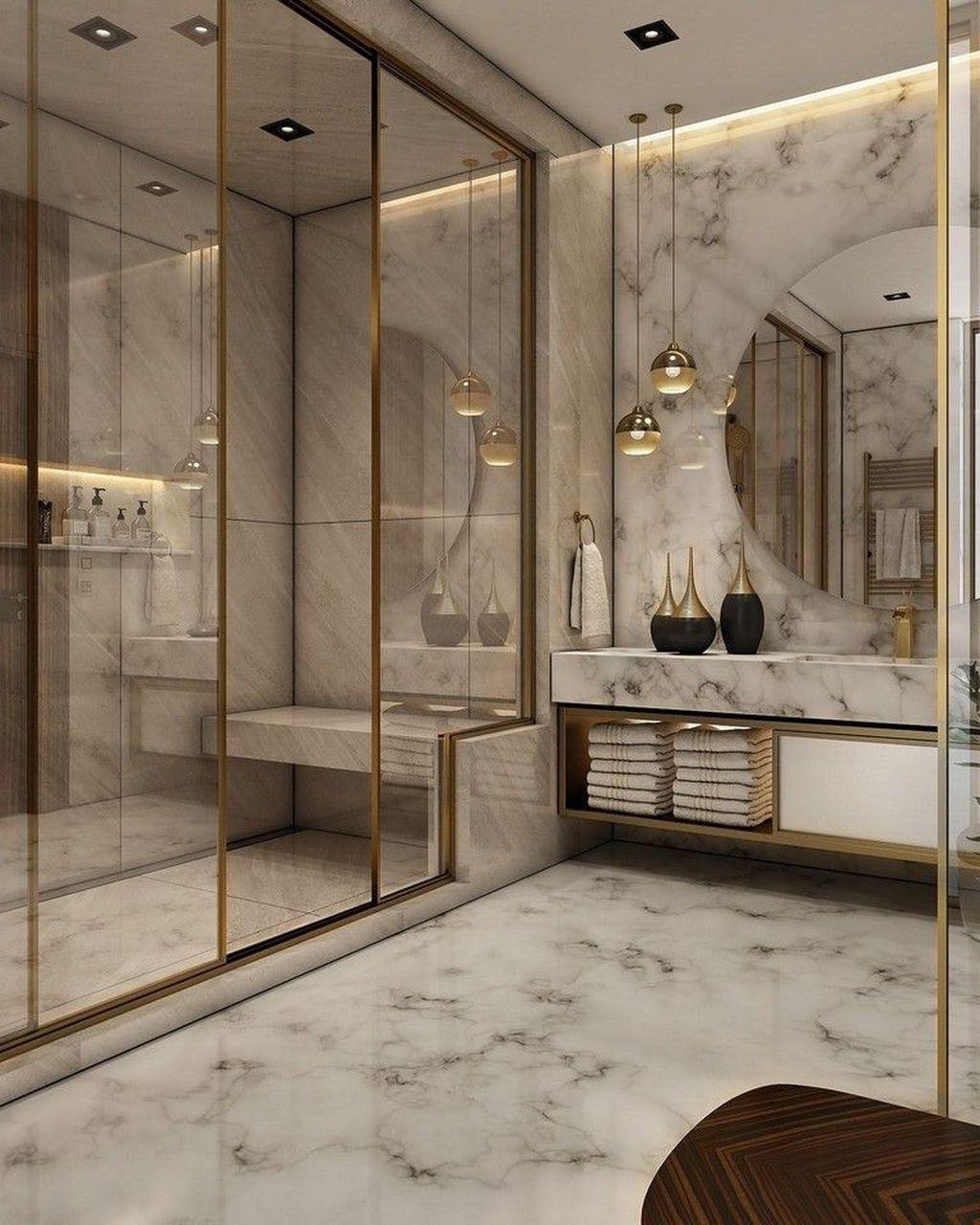 33 Admirable Luxury Bathroom Design