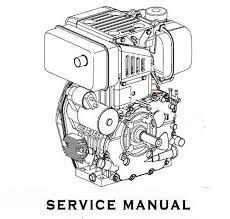 Yanmar Industrial Diesel Engine 3T84HLE, 3T84HTLE Service
