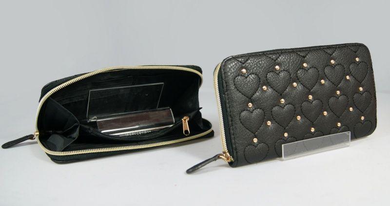 Primark Atmosphere Duzy Czarny Portfel Kopertowka 3203776002 Oficjalne Archiwum Allegro Wallet Zip Around Wallet Zip
