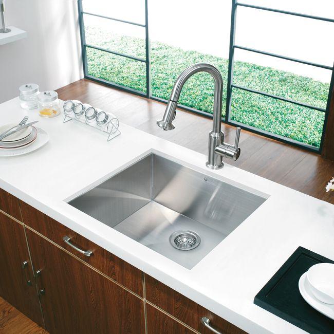 20 Au Courant Stainless Steel Sinks Undermount Kitchen Sinks