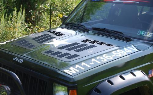 Jeep Cherokee Hood Louvers Xj Hood Louvers Jeep Xj Jeep Cherokee Xj Jeep Cherokee