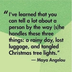 Maya Angelou Quote By Ayk005. Christmas LightsChristmas ...