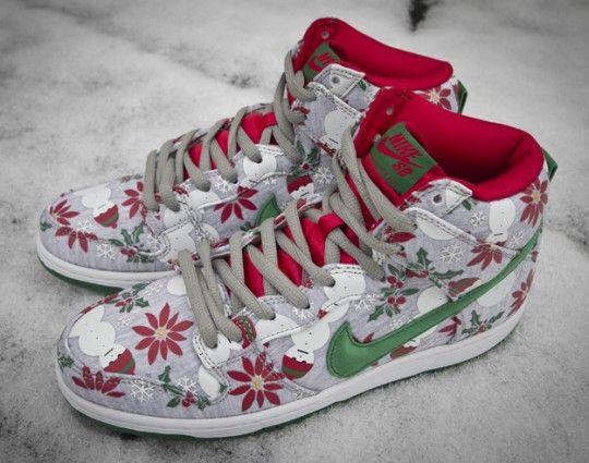 info for 9da80 ebeea Concepts x Nike SB Dunk High UGLY CHRISTMAS SWEATER 1 540x425