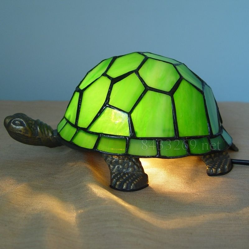 Turtle Tiffany Lamp A27 1gtt1 Tiffany Table Lamps Table Lamp Lamp