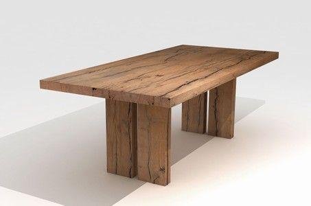 Massivholz Esstisch Aberdeen Haus-Ideen Pinterest - esstische aus massivholz ideen
