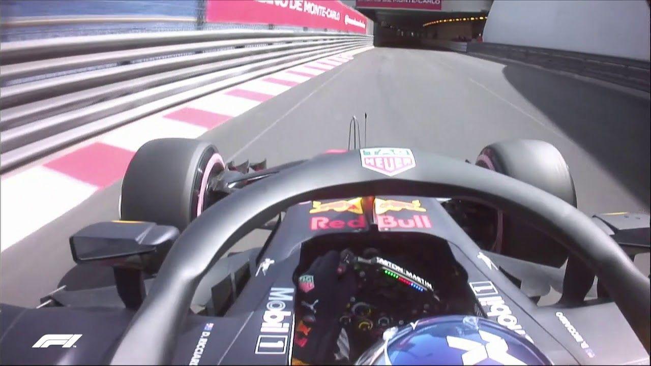 Daniel Ricciardos Pole Lap 2018 Monaco Grand Prix Youtube Series Circuits