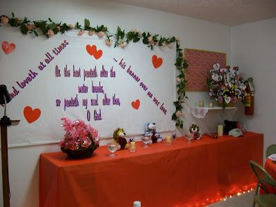 Valentine S Banquet Decorations Church Valentines Banquet