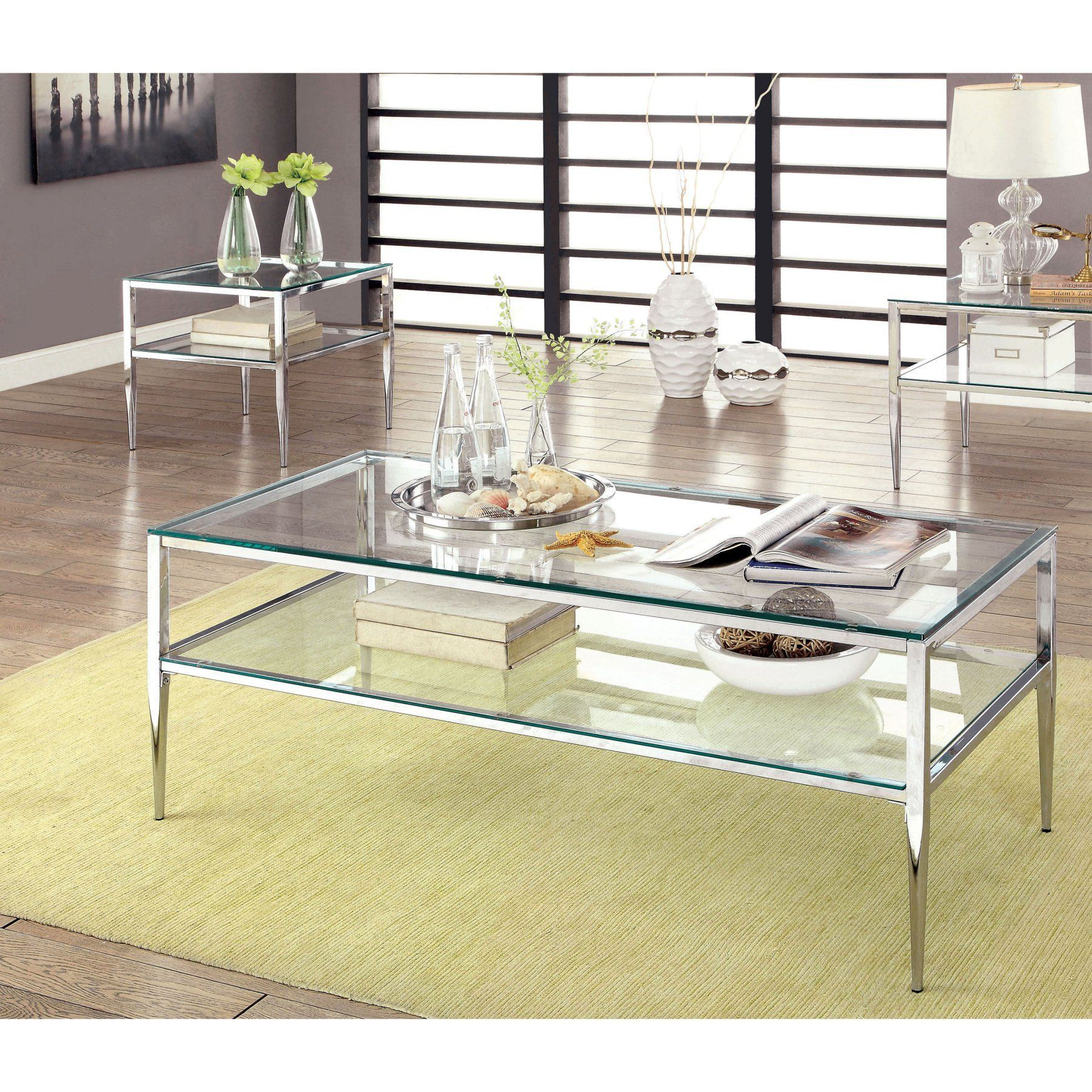 Furniture of america tyra stiletto legged 2 piece coffee table set furniture of america tyra stiletto legged 2 piece coffee table set idf 4162crm geotapseo Choice Image