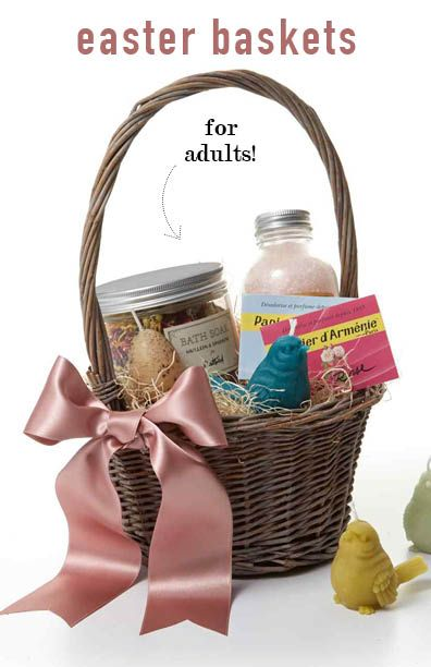 8 luxurious easter basket ideas for adults basket ideas easter 8 luxurious easter basket ideas for adults negle Image collections