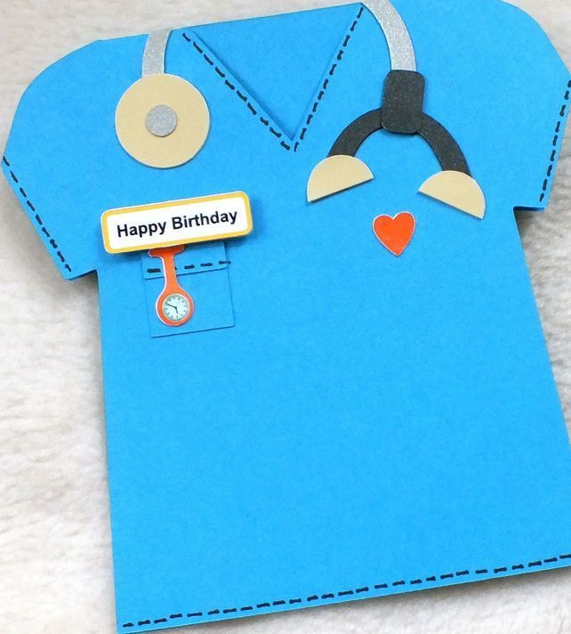 Special doctor vet or nurse handmade birthday card handmade special doctor or nurse handmade birthday card 400 bookmarktalkfo Images