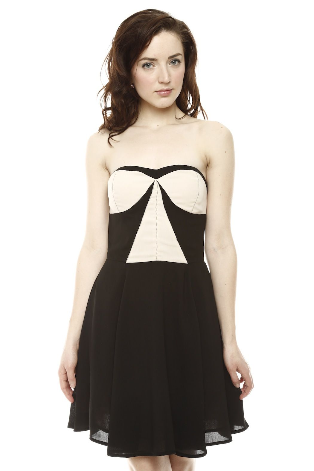 Sugarlips color block dress haute couture couture and clothes