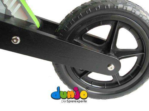 Dunjo® Kids Wooden Balance Bike, Cross Pro , 15052
