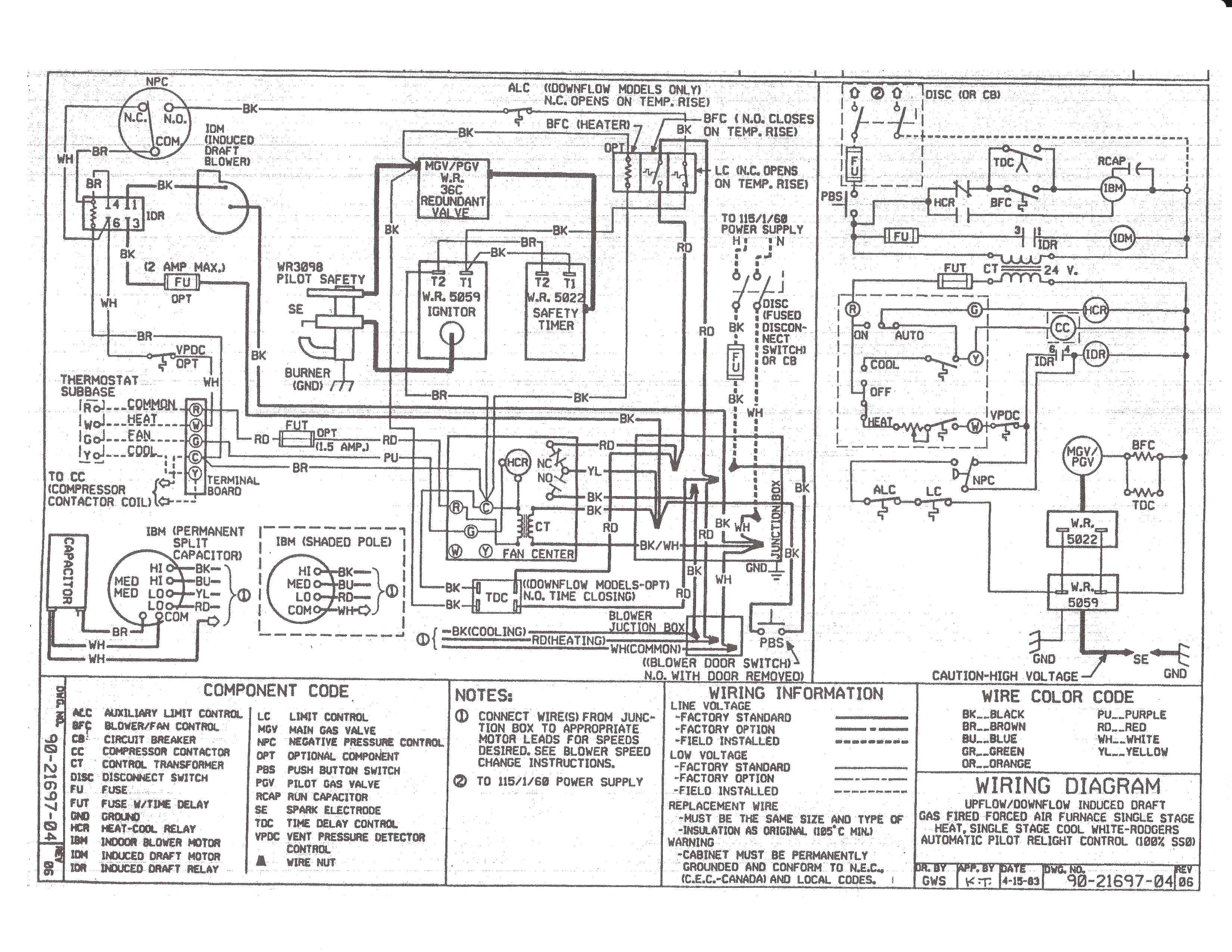 York Heat Pump Thermostat Wiring Diagram from i.pinimg.com